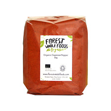 Organic Cayenne Pepper Powder (Free UK Delivery) 125g 250g 500g 1kg 2kg 3kg 5kg