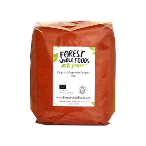 Organic Cayenne Pepper Powder - Forest Whole Foods