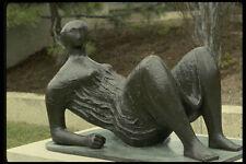 470081 Bronze Statue Draped Reclining Figure By Moore Washington A4 Photo Print