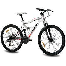 "26"" pulgadas mountainbike bicicleta rueda KCP Attack 21 Gang Shimano Weiss B-Ware"