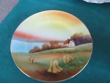 """VINTAGE  NORITAKE PICTURE PLATE 6.5"""" WIDE"""