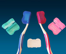 Toothbrush Cover for Head x 5 Colours ~ Manual Brush Travel Case (Fits Sonicare)