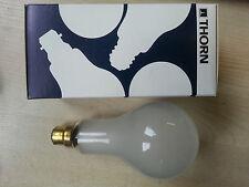 1 x THORN EMI 200W B22 BC Lamp Genuine Vintage 70's 240V Light Bulb Retro PEARL