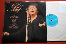 EDITH PIAF INCOMPARABLE 1970 UK MONO LP N/MINT