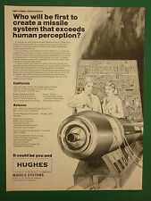 10/1980 PUB HUGHES AIRCRAFT MISSILE SYSTEMS EMPLOYMENT OPPORTUNITIES AD