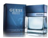 GUESS BLUE SEDUCTIVE HOMME 3.3 / 3.4 edt Men Cologne New in Retail Box sealed