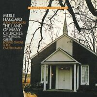 Merle Haggard - THE LAND OF MANY CHURCHES [CD]