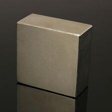 N50 Aimant Neodyme Puissant Neodymium Magnet Magnetique Block 1pc 45 x45 x25mm