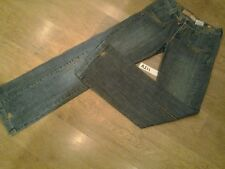 "Ladies jeans by MAGGIE, Blue, Bootleg, size 10, fit Waist 28""  Leg 34"" vgc"