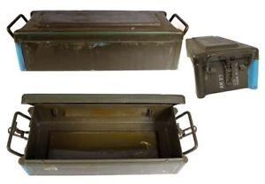 BW Munitionskiste DM21 Werkzeugbox Transportkiste Armybox Metallkiste Behälter