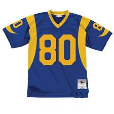 687aa2a37 St. Louis Rams Issac Bruce Mitchell   Ness 1999 Throwback Replica Jersey L