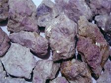 Hackmanite Rare fluorescent all natural Afghanistan  1 to 2 inch 1/4 pound lots
