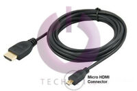1.8M HDMI to MICRO HDMI Cable Lead 1080p for Amazon Kindle Fire HD LCD TV Out UK