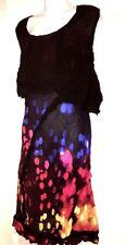 plus sz  M / 20 TS TAKING SHAPE Stolen Jewels Dress Crush Fabric  NWT! rrp$130