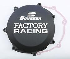 BOYESEN FACTORY RACING CLUTCH COVER (BLACK) CC-38B Fits: Yamaha YZ450F,WR450F