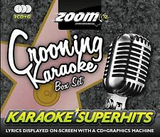 Zoom Karaoke Crooning Superhits 3 Disc CD + G Box Set New Sealed