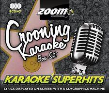 Zoom Karaoke Crooning Superhits 3 Disc CD + G Box Set New Sealed