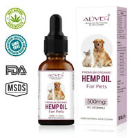 Useful Organics Hemp Seed Oil for Cats Dogs Pets Stress Anxiety Pain Relief 30ml