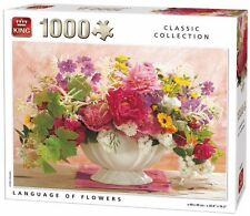 1000 Piece Classic Collection Jigsaw Puzzle - LANGUAGE OF FLOWERS 05377