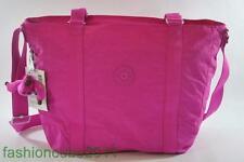 New with Tag KIPLING Adara  Medium Tote Bag TM4055 696 -Breezy Pink