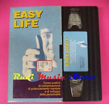 film VHS cartonata EASY LIFE 1 corso pratico comunicazione 1996 (F77) no dvd