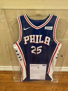 2017-2018 Ben Simmons Game Used Worn 76ers Icon Edition Jersey 12/4/17! MEIGRAY