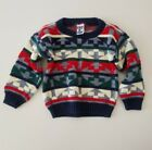 Vintage Cosby Style Ugly Sweater Size 4T Christmas Holiday Season Chunky Knit