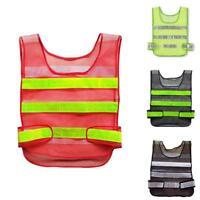 Sicherheits Warn Weste Gelb Bau Warehouse-Reflektierende-Security Jacke Kit_,