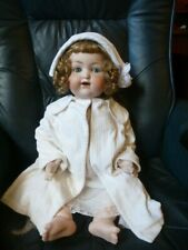 Antique bisque  porcelain head  Armand Marseille 990 A13M character baby doll  2