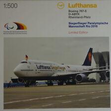 Herpa 530033 lufthansa boeing 747-8 Intercontinental