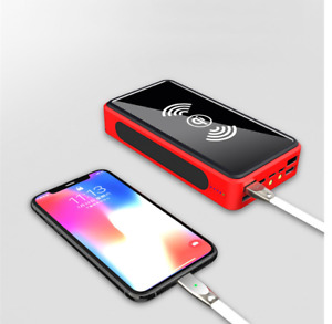 2021 Super 80000mAh  USB Portable Charger Solar Power Bank For Cell Phone