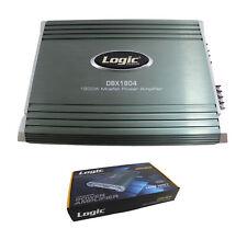 4 Channel Mosfet Power Amplifier 1800W 2 ohm Car Audio bridgeable Amp DBX1804