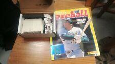 1989 Panini Baseball Sticker Album Complete set 480 Stickers & Book Mint