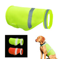 Breathable High Visibility Safety Dog Jackets Reflective Hi Vis Viz Coats Vest
