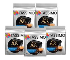 5 Packs Tassimo L'OR Espresso Decaffeinato T Discs Pods - 80 Decaf Drinks LOR