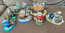 Fitz and Floyd Charming Tails Lot of 7 Figurines - w/ An Abundance of Love