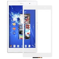 VETRO+TOUCH SCREEN SONY XPERIA Z3 TAB Tablet Compact SGP611 MINI DISPLAY BIANCO
