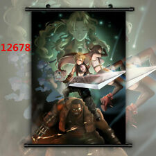 Final Fantasy Vii Ff7 Aerith Gainsborough Anime Manga Wall Poster Scroll40*60cm3