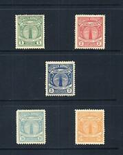 DOMINICAN REPUBLIC _ 1928 'LIGHTHOUSE OFFICIAL' SET of 5 _ mh ____(560)