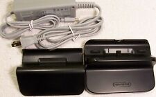 Original Nintendo Wii U Gamepad Stand + Dock +Off Brand Charger
