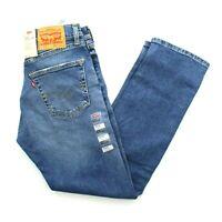 Levi's Levi Strauss Men's 505 Regular Fit Straight Leg Stretch Denim Jeans