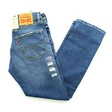 Levi's Levi Strauss Men's 505 Regular Fit Straight Leg Stretch Denim Jeans