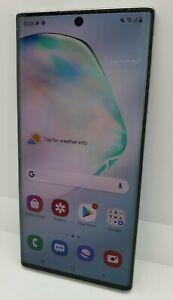 Samsung Galaxy Note10 256GB - Aura Glow (Unlocked) (Dual SIM) *CRACKED SCREEN*