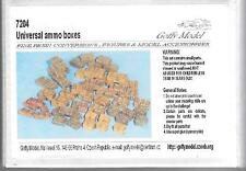 Goffy Model Resin 1/72 Universal Ammo boxes - 7204