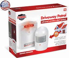 Driveway Alarm Wireless Motion Infrared Sensor Garage Alert Secure System Patrol