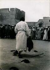 MEKNES c. 1950 - Charmeur de Serpents - Maroc M9