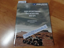 2009 Polaris Sportsman Big Boss 6x6 800 EFI Service Manual OEM