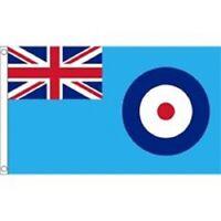 5ft x 3ft Raf Ensign Flag - Royal Air Force Blue Large 2 Metal Eyelets