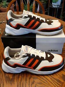 Custom Cleveland Browns Adidas Shoes Jersey Stripes Size 12 NIKE JORDAN  RETRO