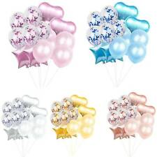 14pcs/set Wedding Birthday Balloons Latex Foil Ballons Kids Boy Girl Baby Party